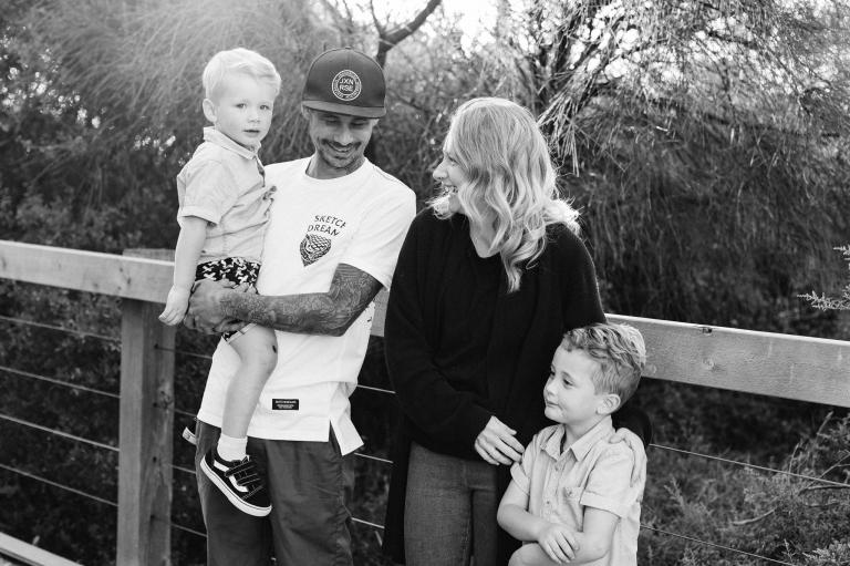 Frankston Beach natural Family Photos